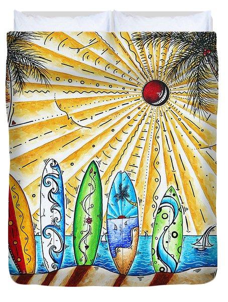 Summer Break by MADART Duvet Cover by Megan Duncanson