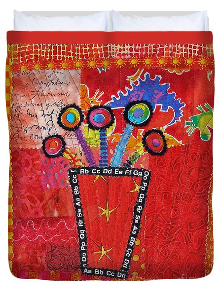 Summer Dance Duvet Cover by Susan Rienzo