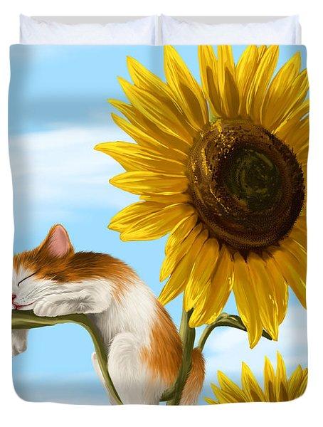 Summer Dream Duvet Cover by Veronica Minozzi
