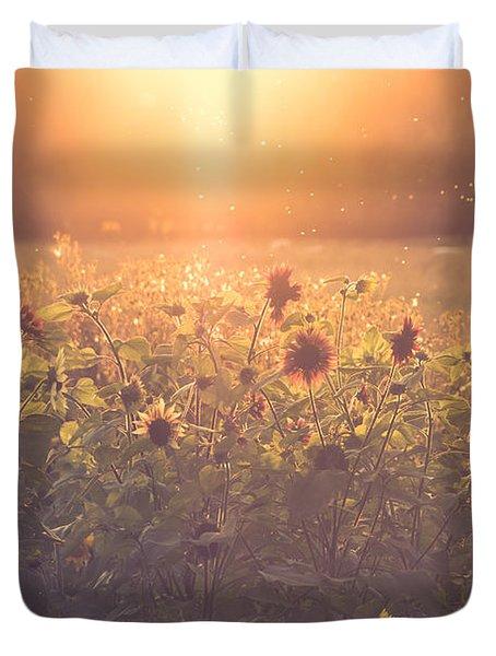 Summer Evening Duvet Cover by Chris Fletcher