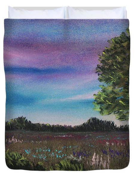 Summer Meadow Duvet Cover by Anastasiya Malakhova