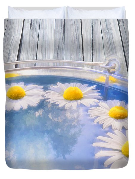 Summer memories Duvet Cover by Veikko Suikkanen