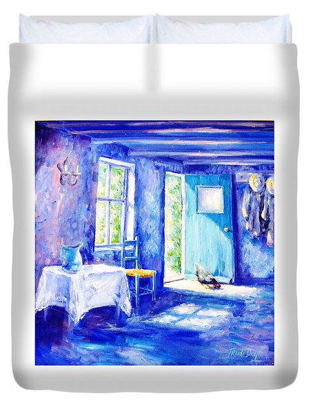 Summer Morning Duvet Cover by Trudi Doyle