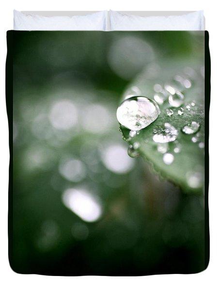 Summer Rain Duvet Cover by AR Annahita
