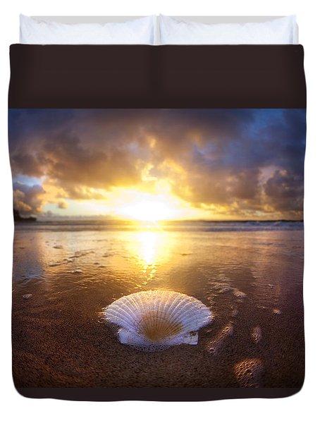 Summer Solstice Duvet Cover by Sean Davey