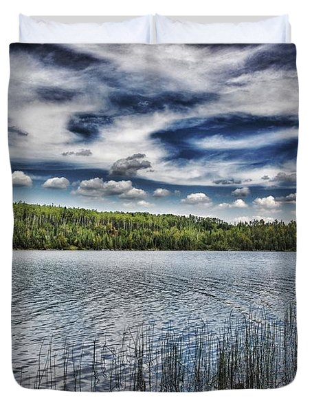 Summer Waters Duvet Cover by Todd and candice Dailey