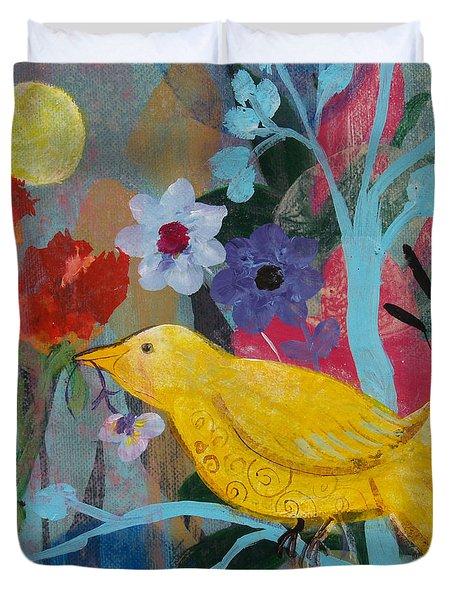 Sun Bearer Duvet Cover by Robin Maria  Pedrero