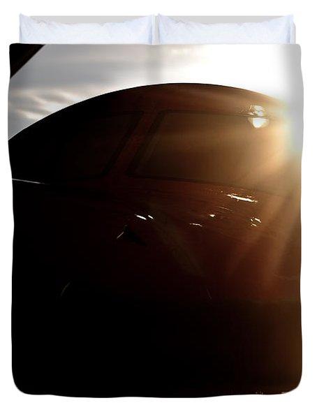 Sun Flare  Duvet Cover by Paul Job