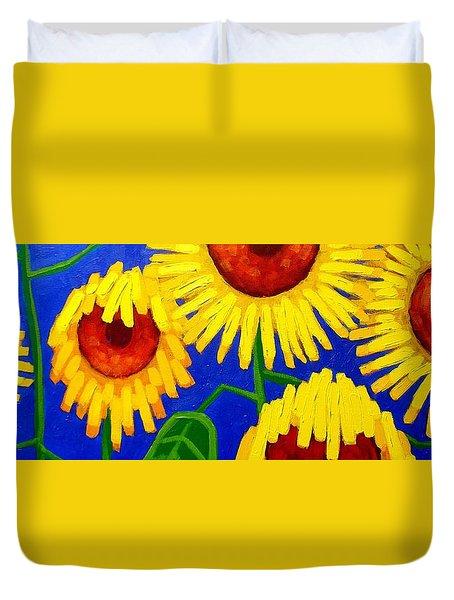 Sun Lovers Duvet Cover by John  Nolan