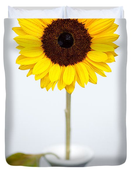 Sunflower Duvet Cover by Dave Bowman