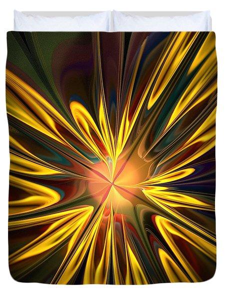 Sunglow Duvet Cover by Anastasiya Malakhova