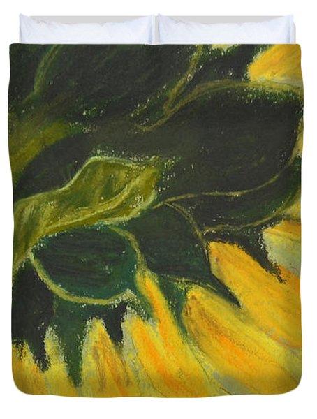 Sunny Side Up Duvet Cover by Cori Solomon