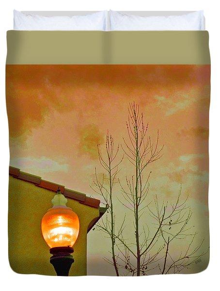 Sunset Lantern Duvet Cover by Ben and Raisa Gertsberg
