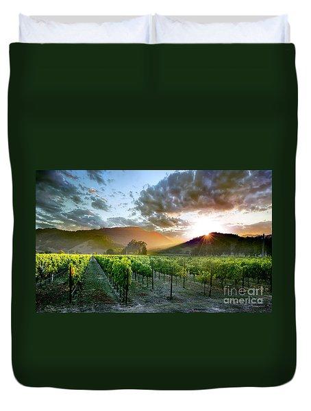 Wine Country Duvet Cover by Jon Neidert