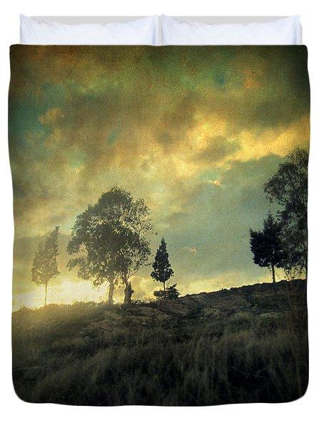 Sunset Trip II Duvet Cover by Taylan Apukovska