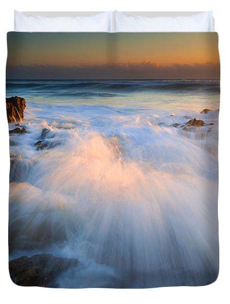 Surge Duvet Cover by Mike  Dawson
