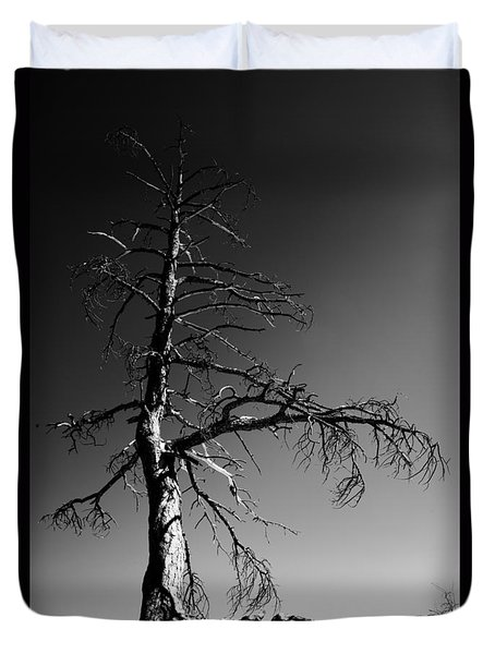 Survival Tree Duvet Cover by Chad Dutson