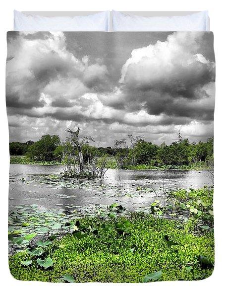 Swamp Duvet Cover by Dan Sproul