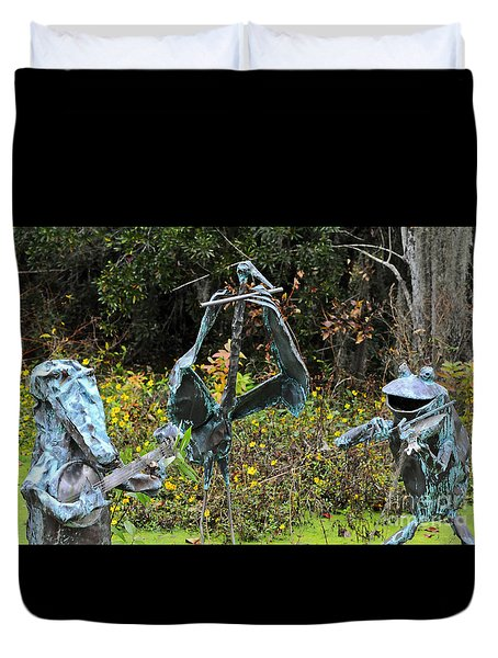 Swampland Critter Band 1 Duvet Cover by Al Powell Photography USA