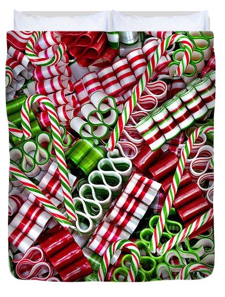 Sweet Christmas 2 Duvet Cover by Carole Gordon