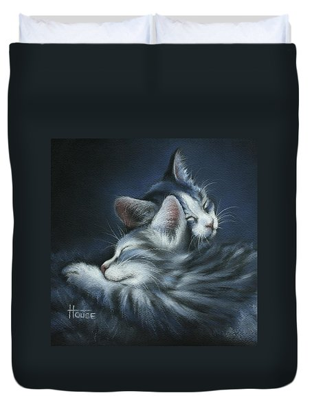 Sweet Dreams Duvet Cover by Cynthia House