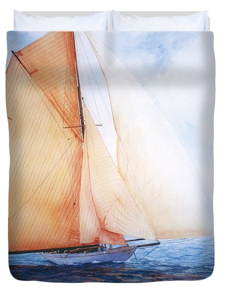 SYCE Duvet Cover by Marguerite Chadwick-Juner