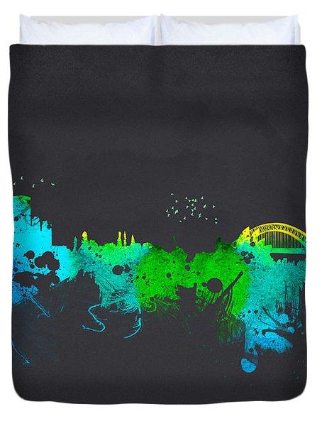Sydney Australia Duvet Cover by Aged Pixel