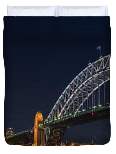 Sydney Harbour Bridge Duvet Cover by Georgia Fowler