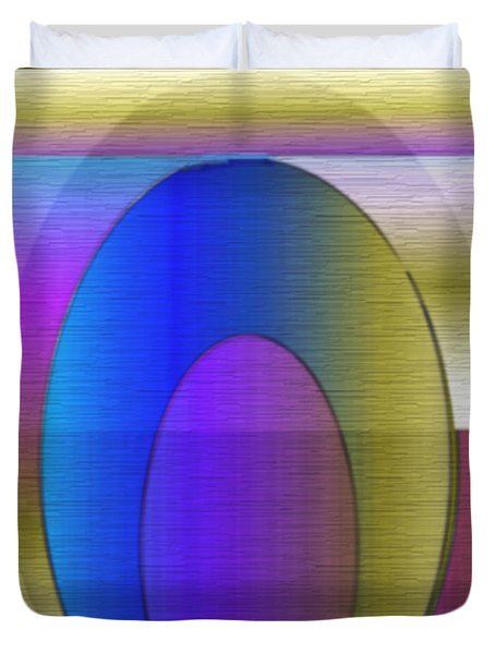 Symmetrica 263 Duvet Cover by Nedunseralathan R