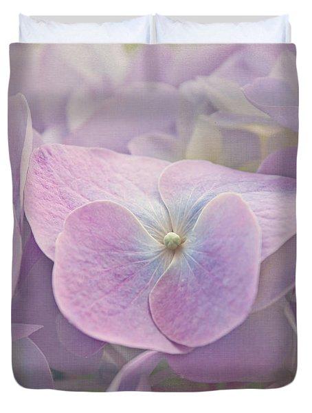 Symphony In Purple Duvet Cover by Kim Hojnacki