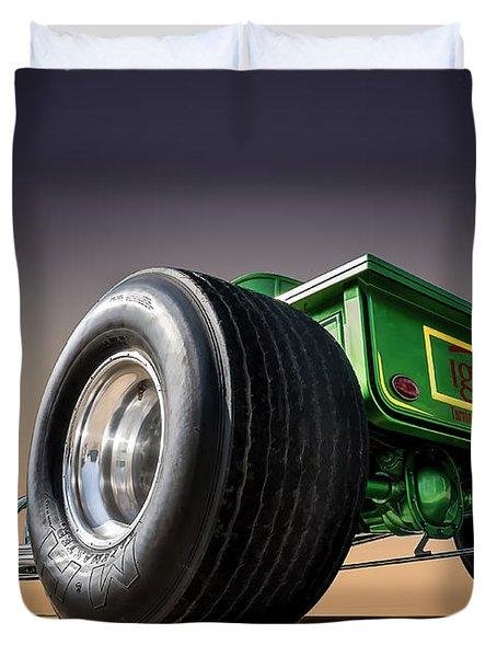 T Bucket Duvet Cover by Douglas Pittman