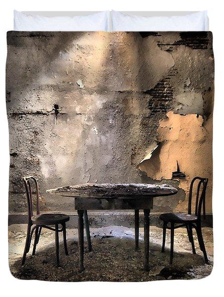 Table 4 Two Duvet Cover by Rick Kuperberg Sr