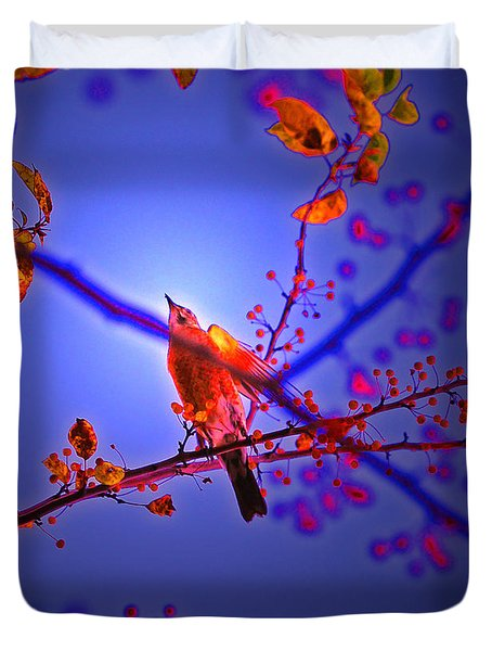 Taking Flight By Jrr Duvet Cover by First Star Art