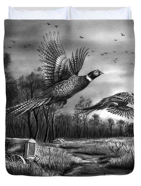 Taking Flight  Duvet Cover by Peter Piatt