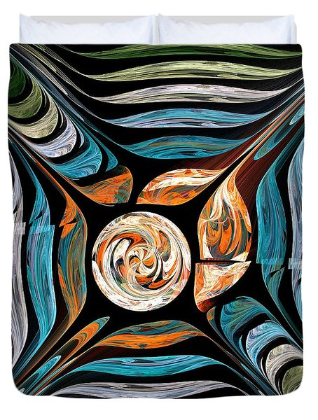 Tale Of Earth Duvet Cover by Anastasiya Malakhova