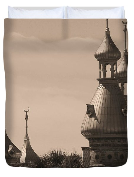 Tampa Minarets  Duvet Cover by Carol Groenen