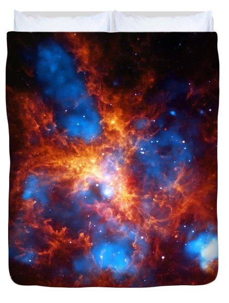 Tarantula Nebula Duvet Cover by Jennifer Rondinelli Reilly - Fine Art Photography