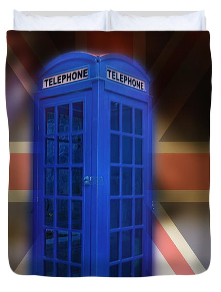 Tardis Duvet Cover by Bill Cannon