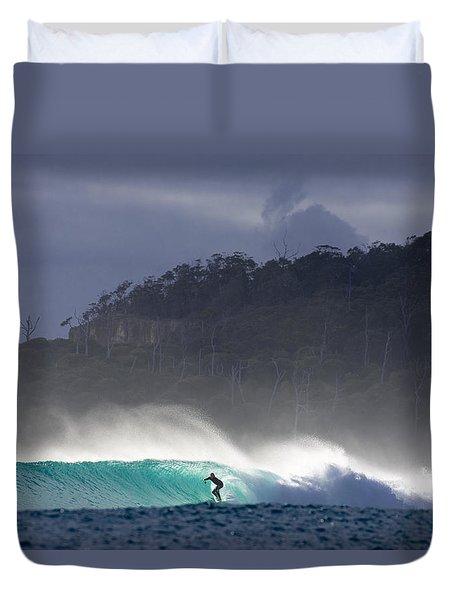 Tasmania Dream Duvet Cover by Sean Davey