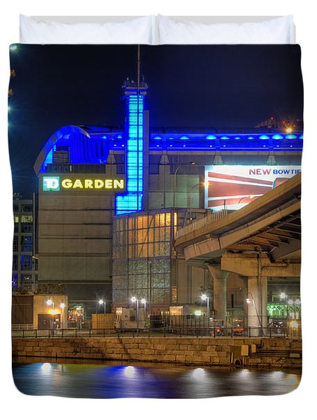 TD Garden - Boston Duvet Cover by Joann Vitali