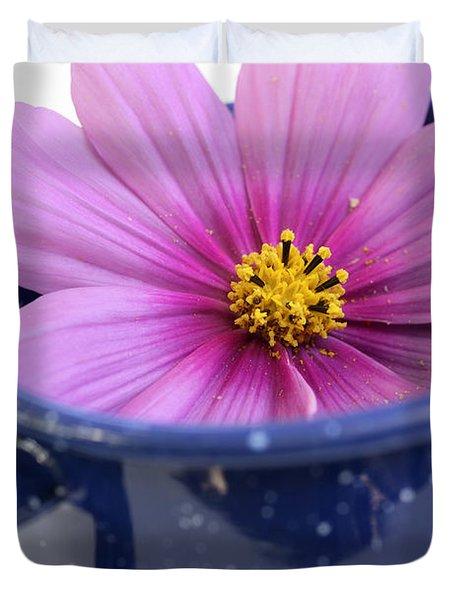 Tea Garden Duvet Cover by Frank Tschakert