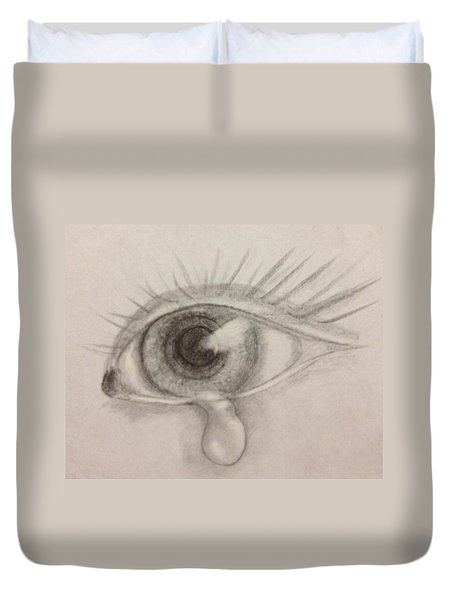 Tear Duvet Cover by Bozena Zajaczkowska