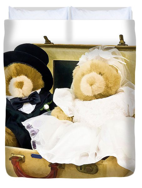 teddy bear honeymoon photograph by edward fielding. Black Bedroom Furniture Sets. Home Design Ideas