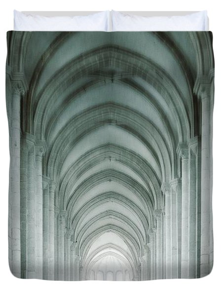 Temple Walker Duvet Cover by Carlos Caetano