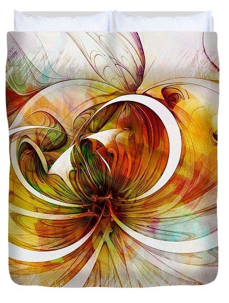 Tendrils 14 Duvet Cover by Amanda Moore