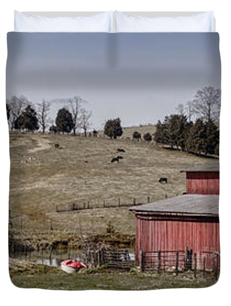 Tennessee Farmstead Duvet Cover by Heather Applegate