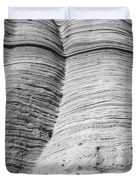 Tent Rocks Wall Duvet Cover by Steven Ralser