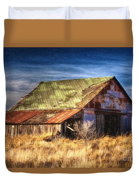 Texas Barn 1 Duvet Cover by DS Dodd