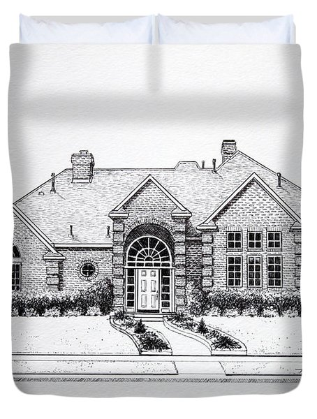 Texas Home 3 Duvet Cover by Hanne Lore Koehler
