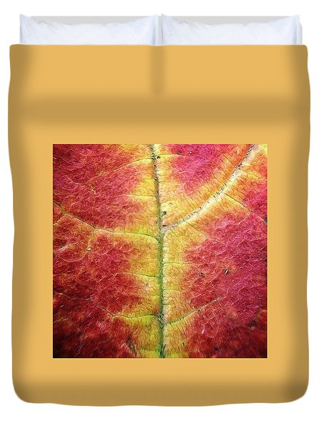 Textural Intricacy Duvet Cover by Natasha Marco